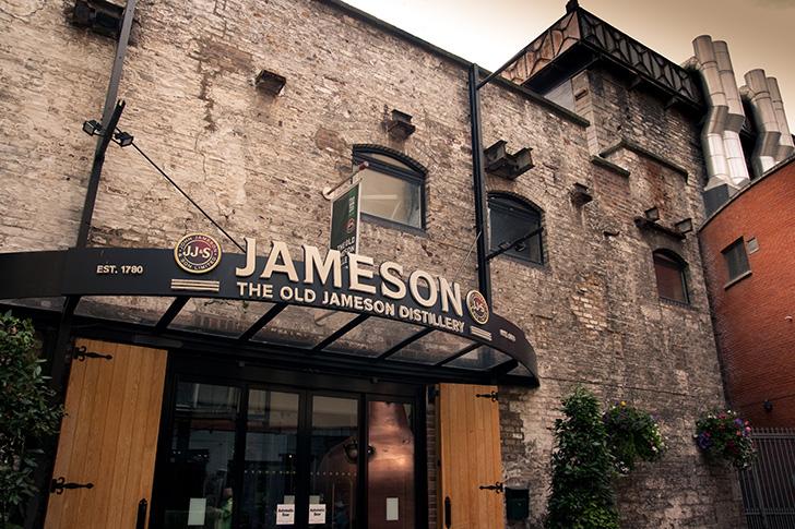 旧ジェムソン蒸溜所