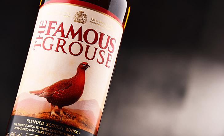 ザ・フェイマスグラウスのボトル