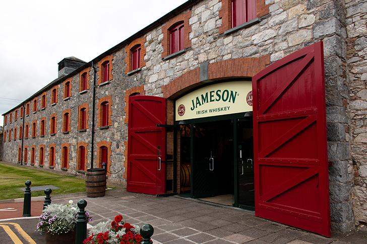 ミドルトン蒸溜所のジェムソンハウス