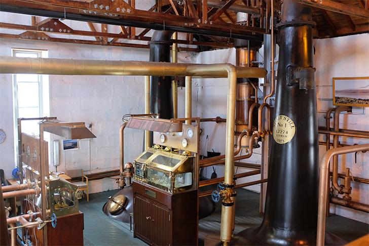 ブルックラディ/ブルイックラディ蒸溜所の蒸留器