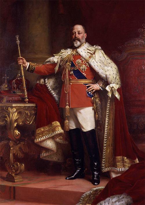 エドワード7世(Edward VII、アルバート・エドワード、Albert Edward)