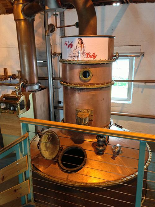 ブルックラディ/ブルイックラディ蒸溜所でボタニストジンも製造しているスチル「アグリーベティ」