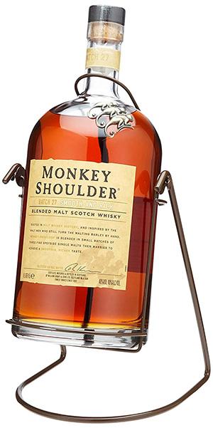 モンキーショルダー 超特大瓶 ゴリラボトル 4,500ml(ブランコ クレドル付)