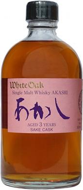シングルモルトあかし3年 日本酒カスク