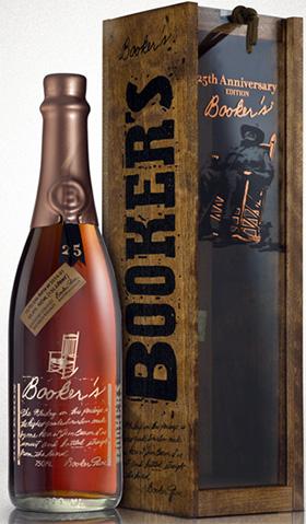 ブッカーズ 25周年記念ボトル