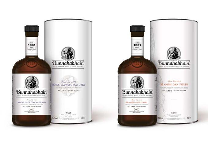 ブナハーブン、アイラ・フェス2018限定ボトル2種