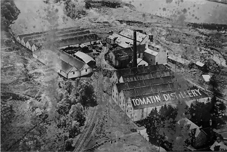過去のトマーティン蒸溜所