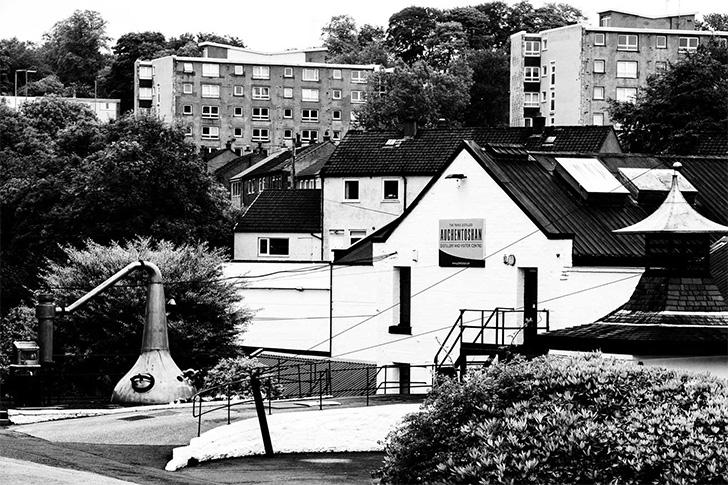 昔のオーヘントッシャン蒸溜所
