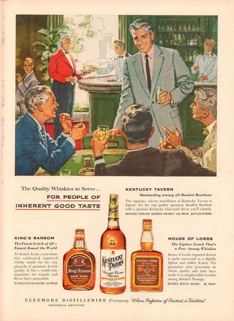 ウイスキーのポスター