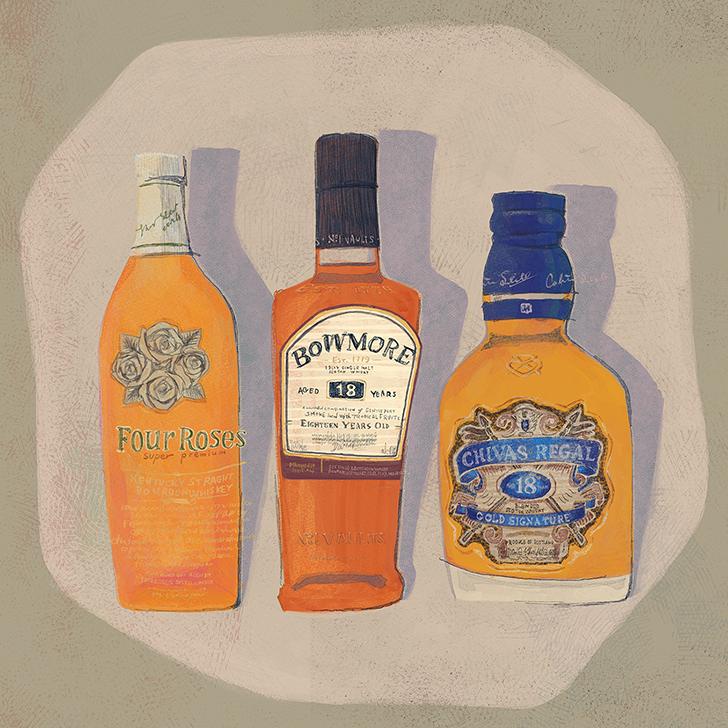ウイスキーアートカード