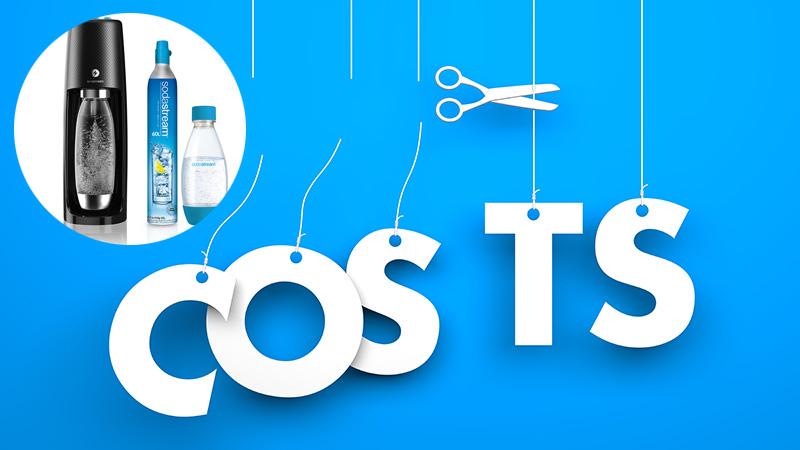 【1本約36円のコスパ!】ソーダストリームの炭酸水1本あたりの価格と維持費