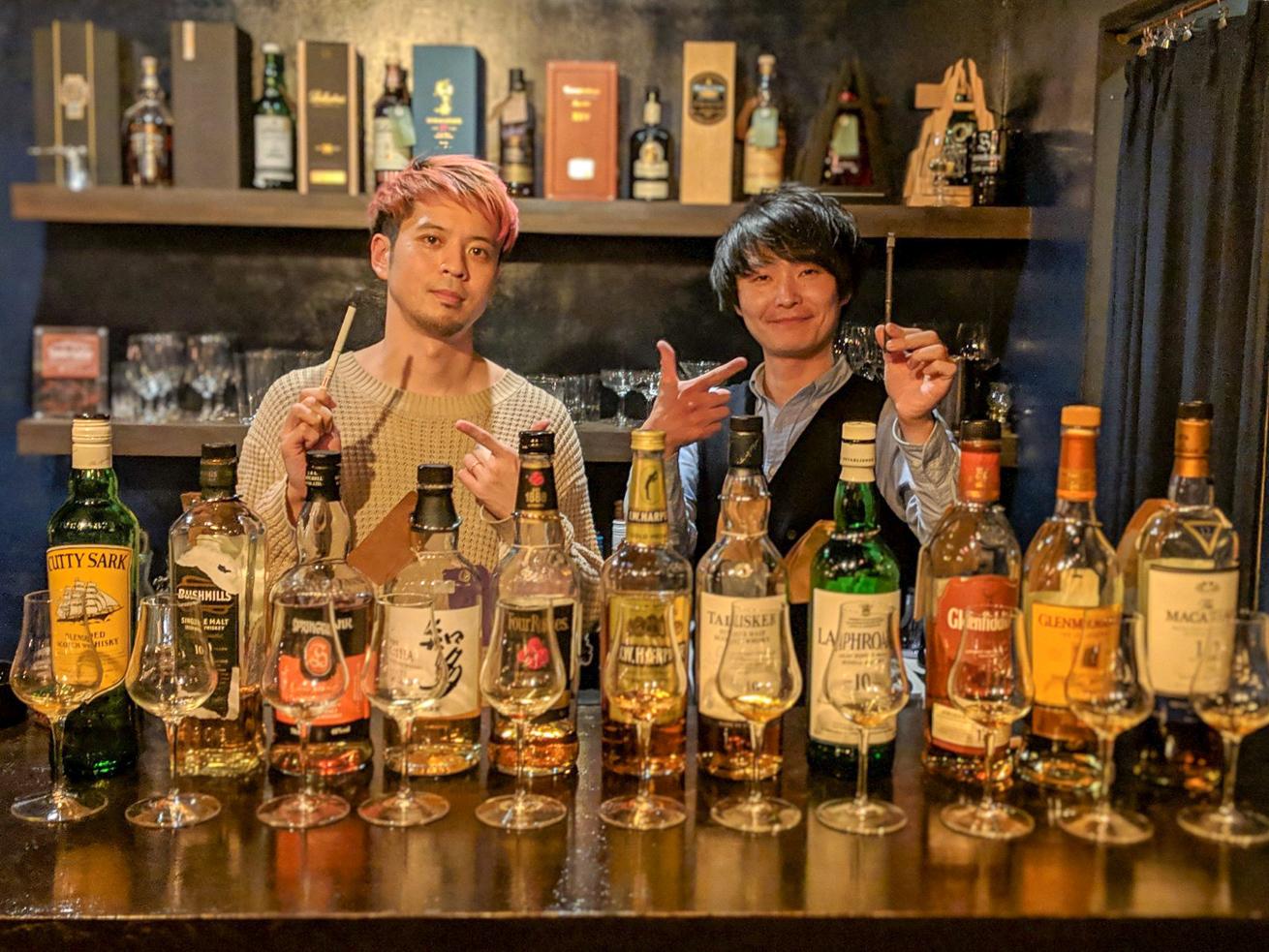 プルームテックとウイスキーのマリアージュイベント