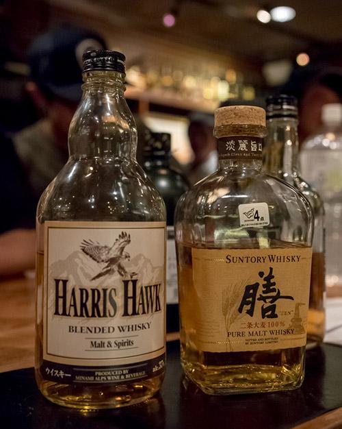 サントリー膳とハリスホーク HARRIS HAWK
