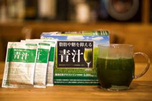 脂肪や糖を抑える難消化性デキストリン入り青汁