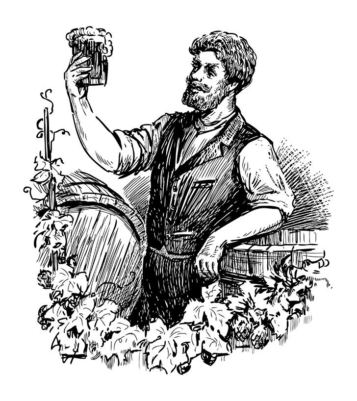 グレンマレイは元々ビール工場だった