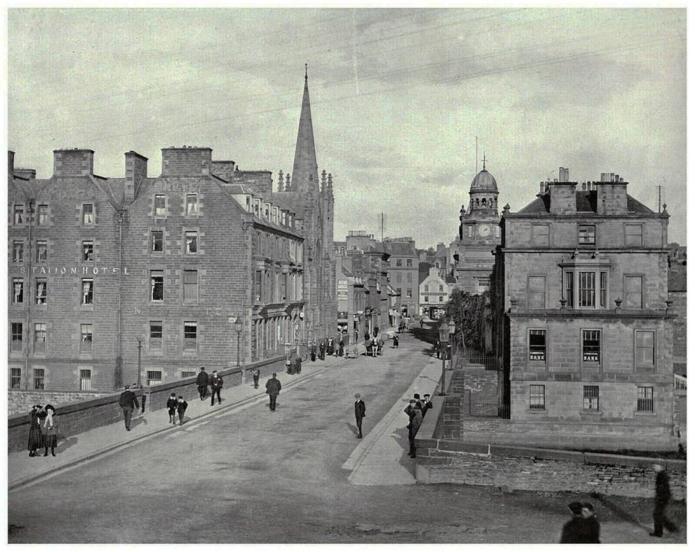 1907年頃のプルトニータウン