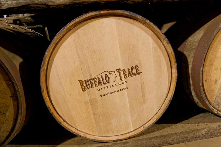 バッファロートレースの樽
