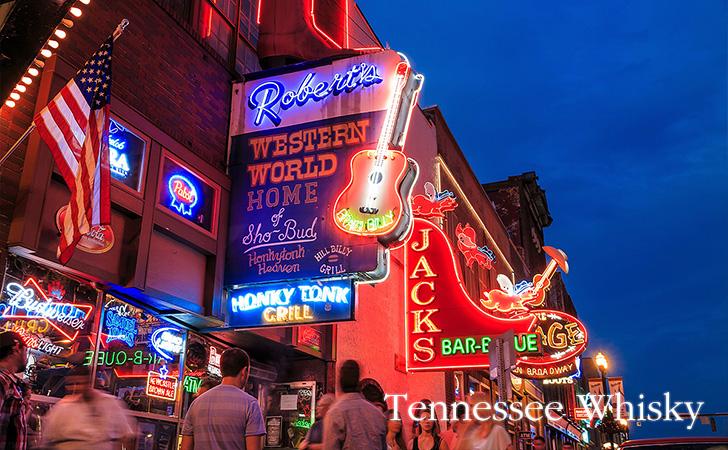 アメリカのテネシーウイスキーの種類