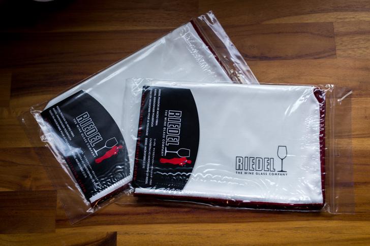 リーデルのグラスクロス(ふきん・布巾)2枚セット