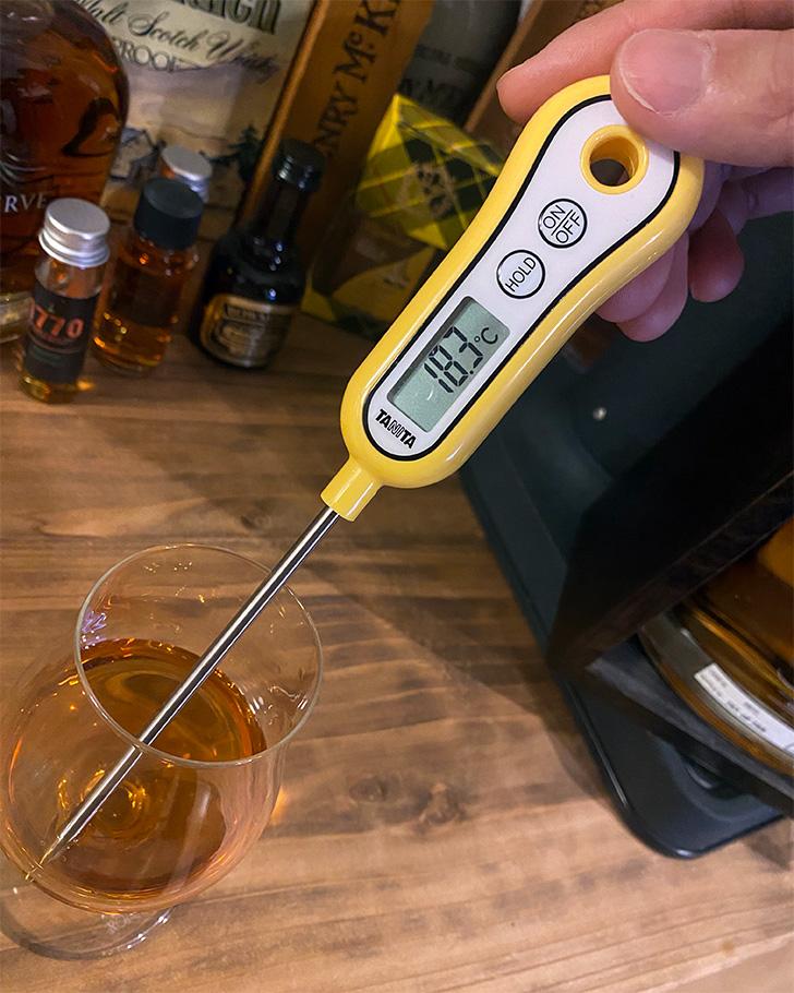 ウイスキーの温度