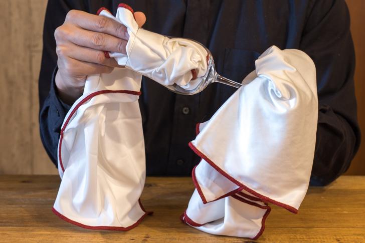 テイスティンググラスのおすすめクロス/グラスの洗い方・拭き方磨き方・保管方法