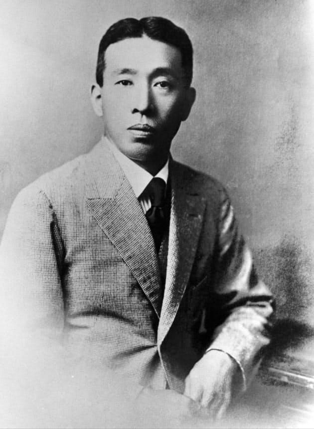 サントリーの創業者である鳥井信治郎