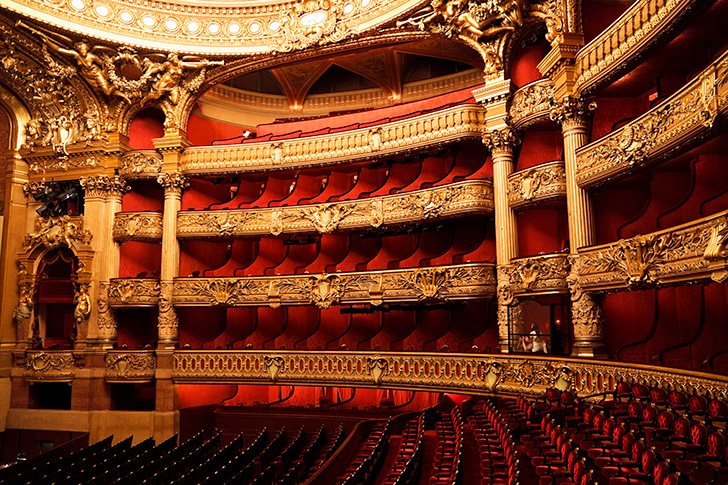 ロンドンのロイヤル・オペラハウス