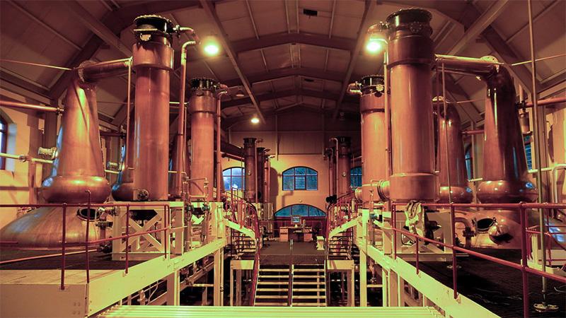 グレンロセス蒸溜所の設備