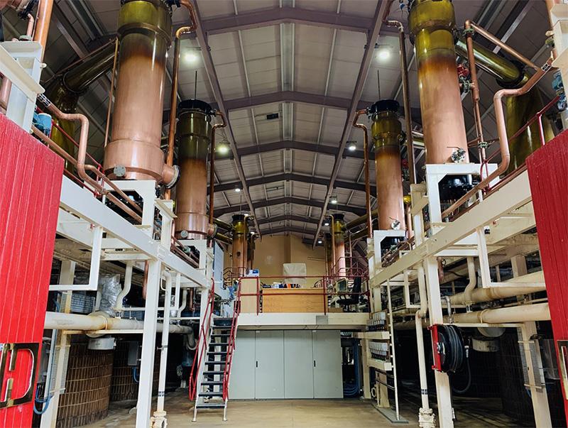 グレンロセス蒸溜所のポットスチル