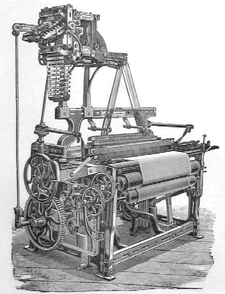 インド産キャラコの織機