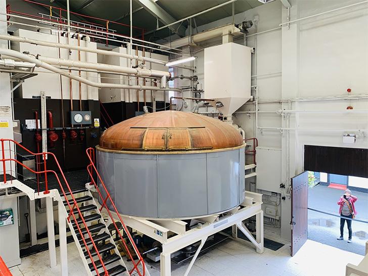 グレンゴイン蒸溜所のマッシュタン