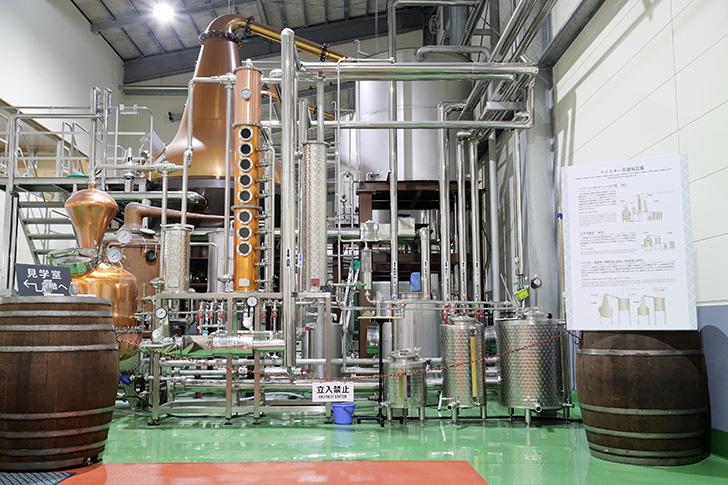 津貫蒸溜所の設備
