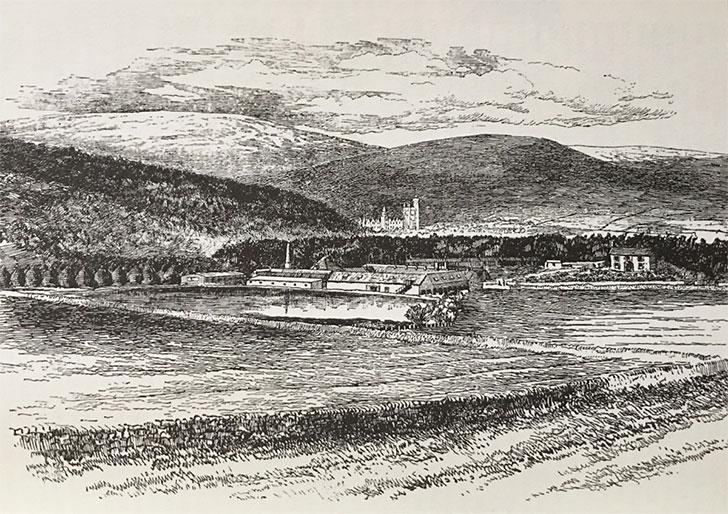 昔のロイヤルロッホナガー蒸溜所