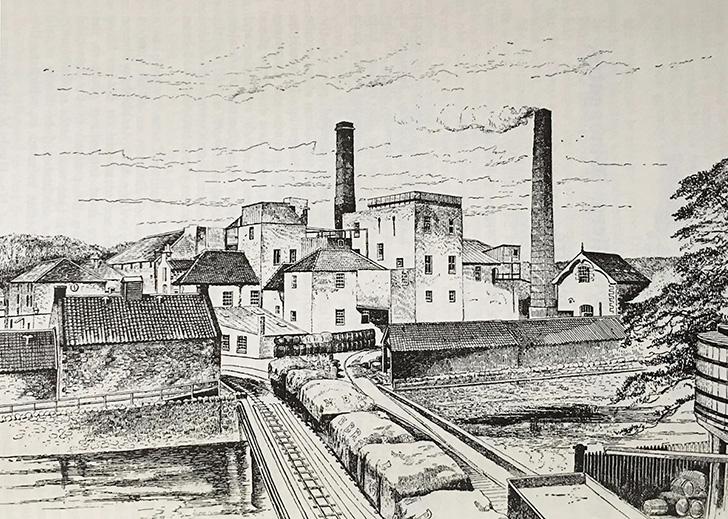 キャメロンブリッジ蒸溜所