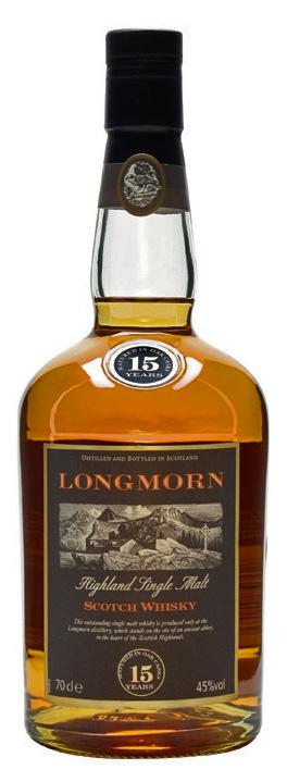 ロングモーン 15年(旧ボトル)