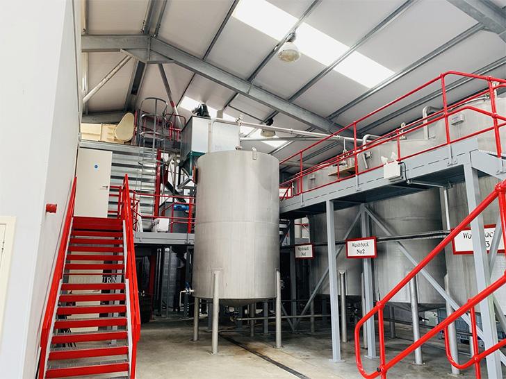 ウルフバーン蒸溜所の設備