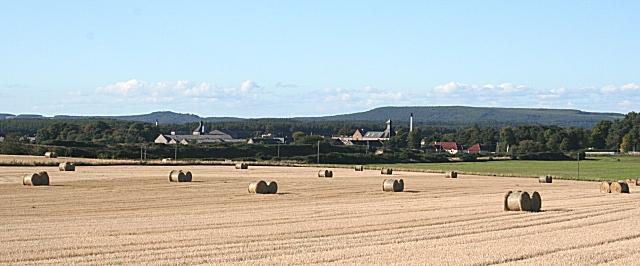 スコットランドエルギンの町付近