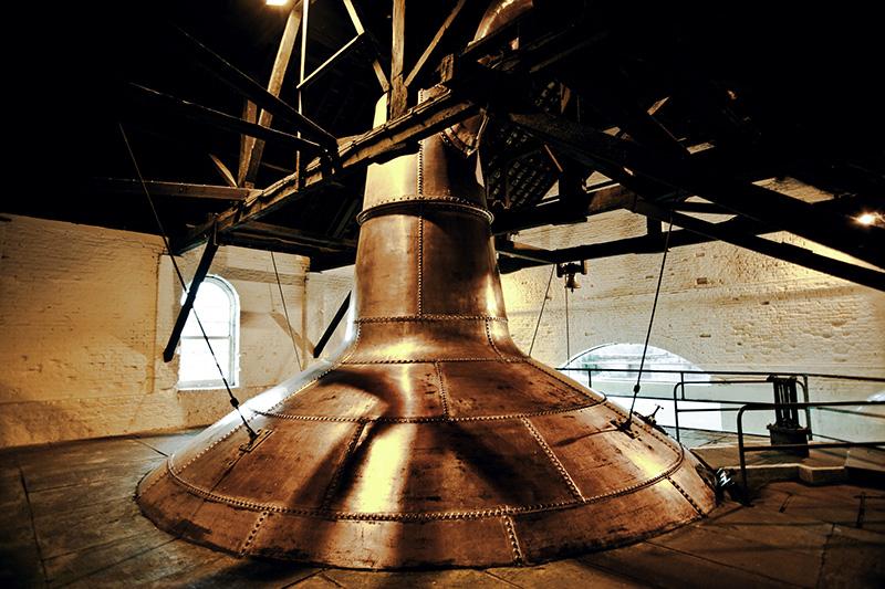 ミドルトン蒸溜所の古いポットスチル