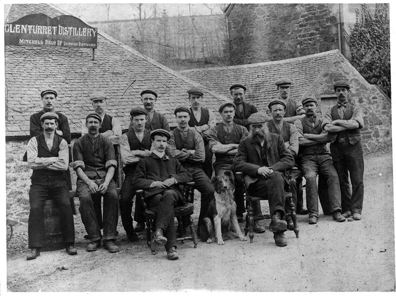 過去のグレンタレット蒸溜所