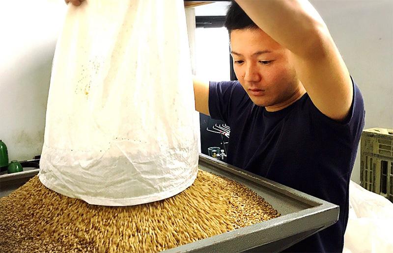 アマハガン(AMAHAGAN)で使用されている麦芽