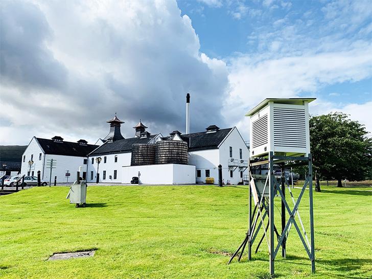 ダルウィニーは気象観測所も兼ねている