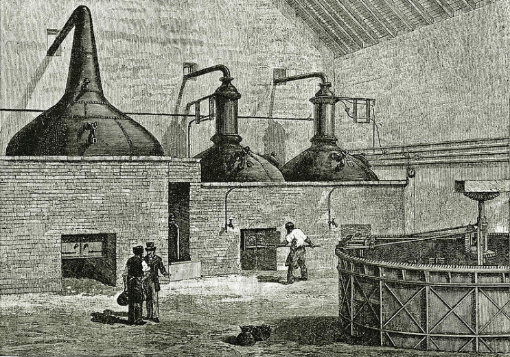 閉鎖されたヘーゼルバーン蒸溜所