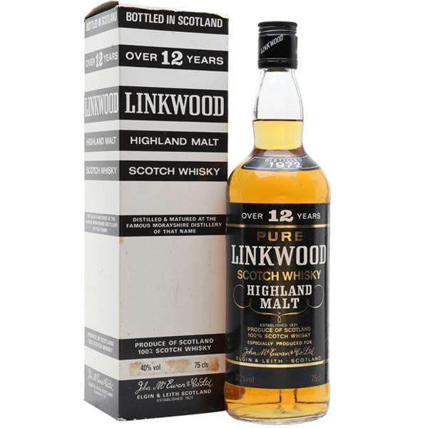 リンクウッド12年 ブラック(オールドボトル)