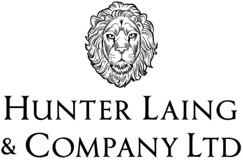 ハンターレイン社のロゴ