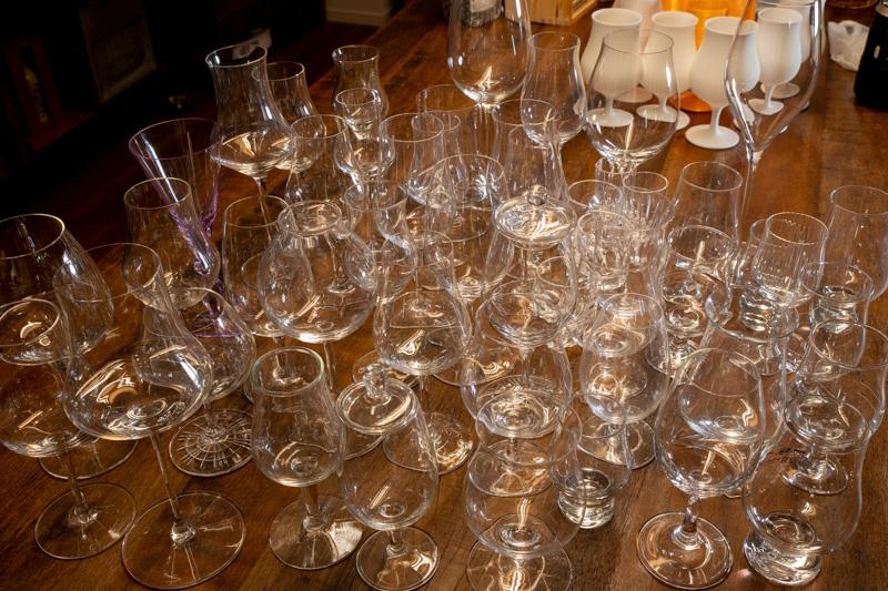 たくさんのストレートグラス