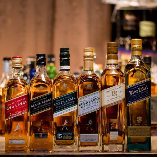 おいしいおすすめブレンデッドウイスキー!ジョニーウォーカーセット